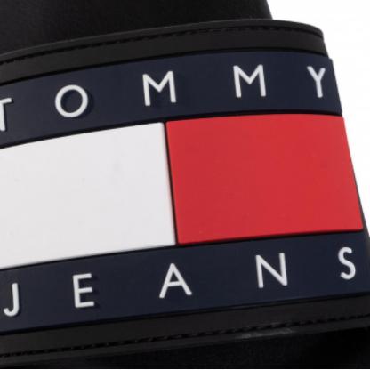 tommy-jeans-flag-pool-slide-negre-6
