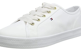 Tommy hilfiger essential nautical sneaker white 1